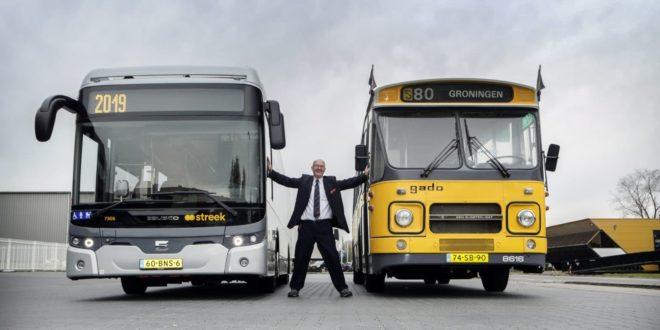 Stari dizaleš protiv novog električnog autobusa Ebusco