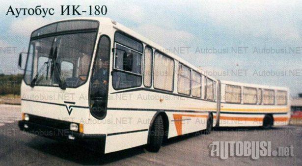 Ikarus IK-110/160: (4) Zglobnjaci za duže relacije