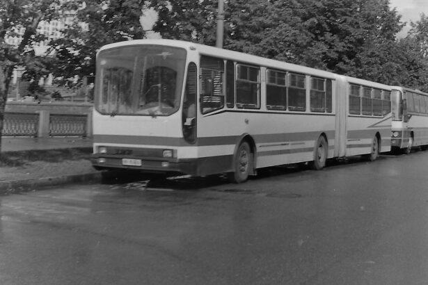 Ikarus IK-110/160: (7) Surova sovjetska zima - IK-180S Pasažiravtotrans
