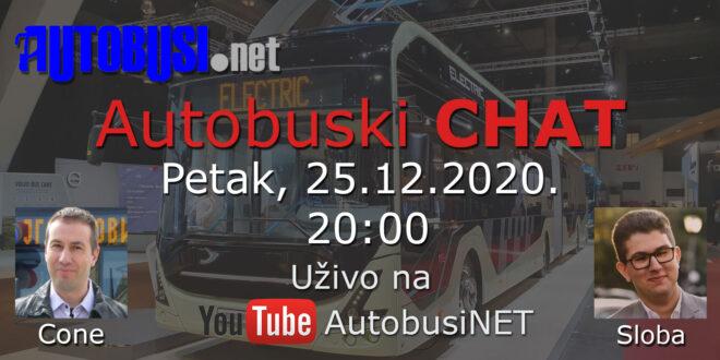 Autobuski chat uživo na YouTube