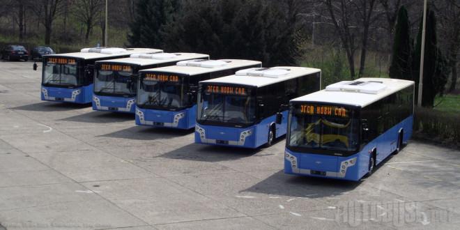 FOTO I VIDEO: Novi Ikarbusi u Novom Sadu