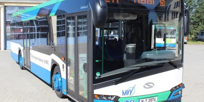 Novi Solaris Urbino prevozi putnike u Bavarskoj
