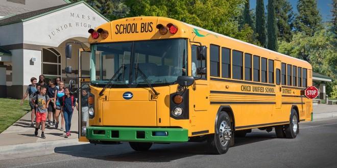 Električni školski autobusi u SAD
