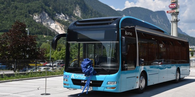 Prvi hibridni autobus u Sloveniji