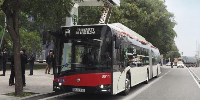 Električni Solarisi u Barseloni