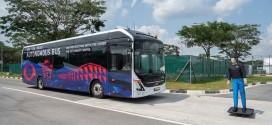 Volvo u Singapuru predstavio autonomni električni autobus